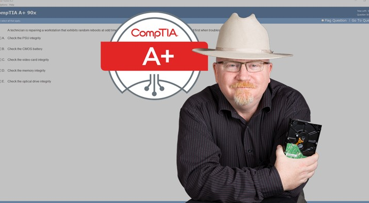 CompTIA certified Udemy course safety